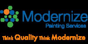 modernize painting services logo